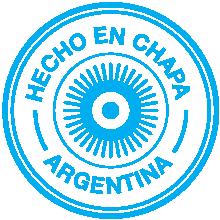 Hecho en CHAPA argentina